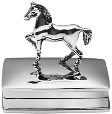 HORSE PILLBOX STERLING SILVER 925 HALLMARKED NEW FROM ARI D NORMAN
