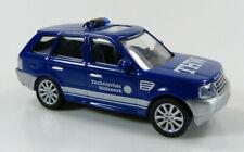 Range Rover THW blau Schuco 1:87 H0 ohne OVP [CA2-D3]