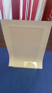 "4"" x 6"" ACRYLIC TABLE TOP DISPLAYETTES RECTANGLE DOUBLE SIDED PHOTOS/FOODS"