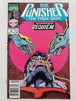 THE PUNISHER #59 (1992) MARVEL FRANK CASTLE BECOMES BLACK! NEWSSTAND VARIANT ED.