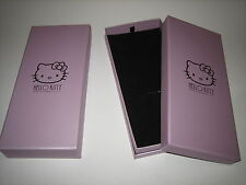 NICE!! TWO (2) HELLO KITTY NECKLACE OR PENDANT BOXES SANRIO LICENSED BRAND NEW!