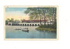 Chicago IL Douglas Park Boat House unused postcard