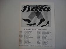 advertising Pubblicità 1967 SCARPE BATA