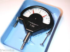 "NOS KAFER Mahr Germany T100 DIAL COMPARATOR INDICATOR .001"" with remote plunger"