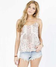 Billabong Women The Dreamy Grapefruit Woven Top Blouses Shirt Sz Medium