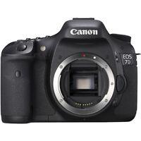 Canon EOS 7D 18.0 MP Digital SLR Camera - Black (Body Only) (3814B004)