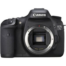 Canon EOS 7D 18.0 MP Digital SLR Camera - Black (Body Only) (3814B004)