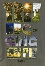 Mambo Australia M T-shirt Tree Hugging Hippie Graphic Gray