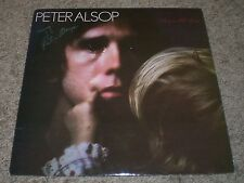 Draw The Line Peter Alsop~AUTOGRAPHED~1980 Folk~VG++ Vinyl~Flying Fish~FAST SHIP