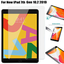"0iPad Screen Protector Tempered Glass for Apple iPad 10.2"" (2019) 7th Generation"