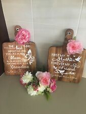 Personalised Boards - Gift For Mothers Day, Birthday, Christmas, Anniversary