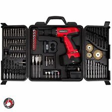 Cordless Drill Bit Set Rechargeable 18V Wireless Power Tool Battery Operated NEW