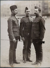 c.1890's PHOTO   BRITISH ARMY UNIFORM - NW CANADA MILITARY POLICE