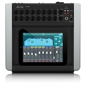 Behringer X AIR X18 Desktop 12-Bus Digital Mixer for iPad/Android Tablets