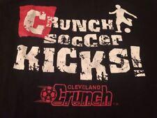 1990s Cleveland Crunch Soccer Kicks! Vintage T-Shirt Medium Soccer