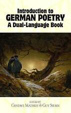 Introduction to German Poetry: A Dual-Language Book by Dover Publications Inc. (Paperback, 1991)