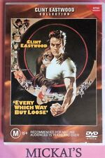 EVERY WHICH WAY BUT LOOSE - CLINT EASTWOOD COLLECTION #18594 WARNER BROS DVD PAL