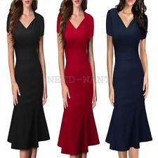 Rockabilly Polyester Plus Size Vintage Dresses for Women