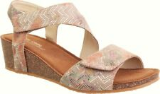 Klouds Shoes Silver lining  - Comfort wedge leather Sandals -  Kyra combos