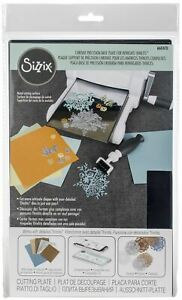 Sizzix Chrome Precision Base Plate For Intricate Thinlits -660470