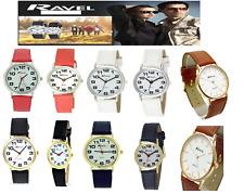 Ravel Super Clear Easy Read Quartz Watches 12 Months Warranty