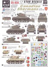 Star Decals 1/35 CANADIAN SHERMAN TANKS IN THE KOREAN WAR