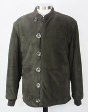 bebb54928 Mint Gucci Dark Brown Suede Bomber Jacket 54 eu / 44 US