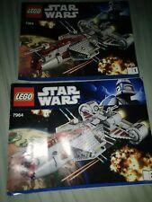 LEGO Star Wars Republic Frigate (7964) Instruction Manual 2 Booklets