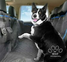 Dog Car Seat Cover with Pockets - Scratch Proof Waterproof Pet Hammock Car Seat