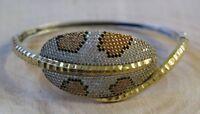 Turkish Handmade Jewelry Sterling Silver 925 Quartz Bracelet Bangle Cuff