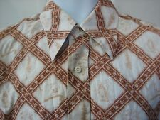 Reyn Spooner vintage 1970s California icons western hawaiian shirt men's medium
