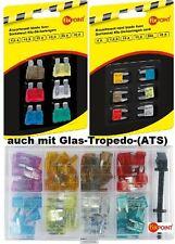 Assorted Car Fuses Normal Mini Flachsicherungen Glass Sicherungszieher New