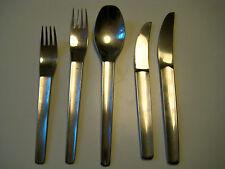 5 Teile Rosenthal Besteck  Konkav Tapio Wirkkala Finland Design  Cutlery Nr. 51