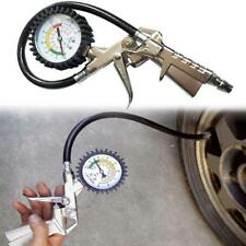 Car Motorcycle Truck Tire inflator with integrated pressure gauge Tyre Gun Diagn