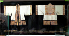 Vintage DRAGON ROBES of China's Last Dynasty Poster SAN DIEGO MUSEUM 1990