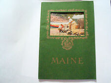 Maine Booket Book The land of Remembered Vacations Photos  Autographed, (**)