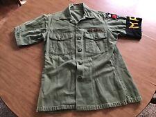 Vietnam War Us Army Mp Sateen Shirt