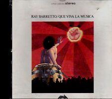 """RAY BARRETTO - """" QUE VIVA LA MUSICA"""" - CD  (FIRST PRESSING)"""
