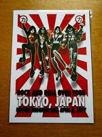 KISS : TOKYO ,JAPAN BUDOKAN 1977 : A4 GLOSSY REPRODUCTION POSTER