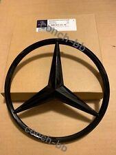 MERCEDES-BENZ GLE W166 GLC W253 FRONT GRILLE STAR BADGE Emblem Gloss Black 206mm