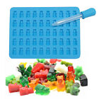 50 Cavity Gummy Maker Bear Mold Novelty Silicone Chocolate Candy Ice Tray New