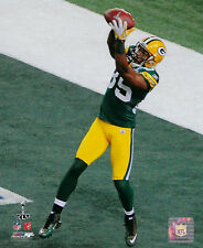 2010 PACKERS Greg Jennings 8x10 photo TD Catch Super Bowl XLV Green Bay