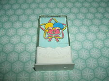 Rare Vintage 1976 Sanrio Little Twin Stars Cased eraser rubber gomme gommine