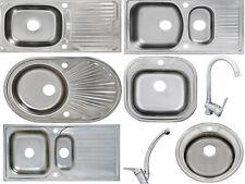 Küchenspüle Waschbecken Einbauspüle Spülbecken Küchen mit Ablage Edelstahl