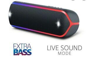 Sony SRS-XB22 Extra Bass Portable Blue Bluetooth Speaker - (SRSXB22/L)