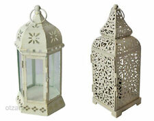 Unbranded Metal Pillar Candle & Tea Light Lanterns