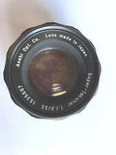 Pentax SM M42 Super Takumar  55mm f1.8 Fast Prime Lens Compact and Tack Sharp