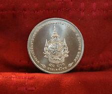 King Bhumibol Adulyadej Rama IX 84th Birthday 50 Baht 2011 Thailand Coin Thai a