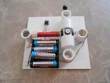 DIY HALL EFFECT IC MOTOR KIT #6 SCIENCE FAIR PROJECT ELECTRICITY MAGNETISM
