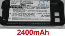 Coque + Batterie 2400mAh type BF5X SNN5877A Pour Motorola MB525